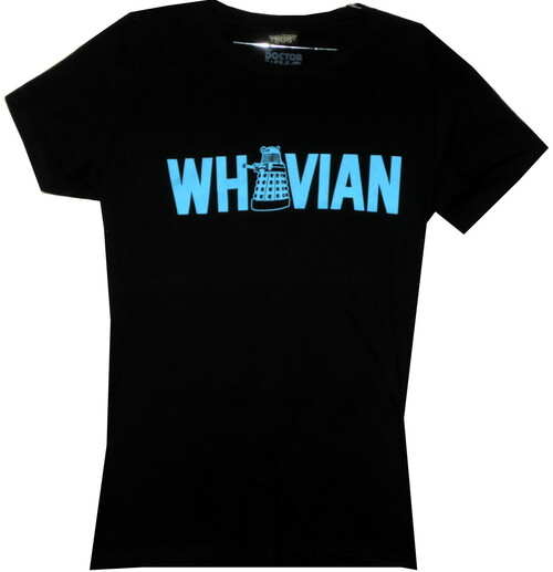 Image for Doctor Who Girls T-Shirt - Dalek Whovian Girls T-Shirt