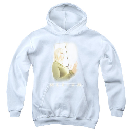 Image for Medium Youth Hoodie - White Light