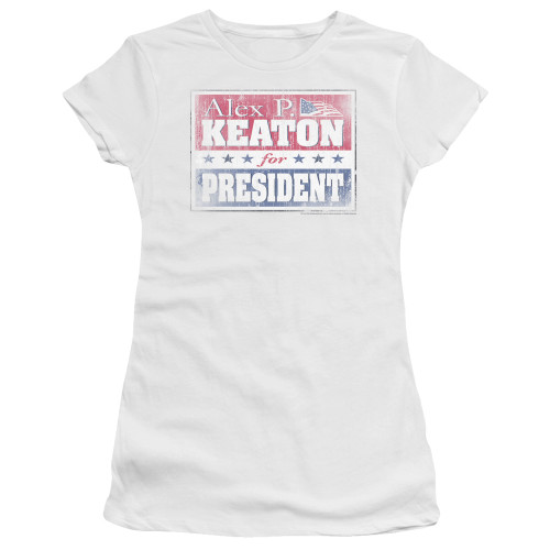 Image for Family Ties Girls T-Shirt - Alex for President