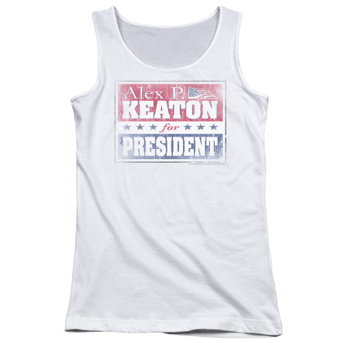 Image for Family Ties Girls Tank Top - Alex for President