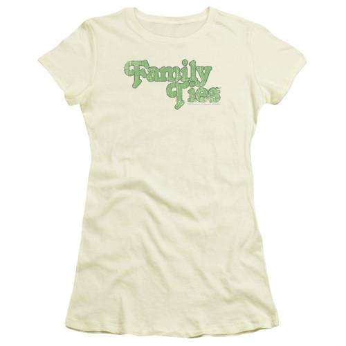 Image for Family Ties Girls T-Shirt - Logo
