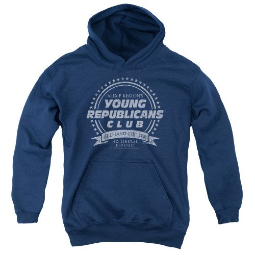Image for Family Ties Youth Hoodie - Young Republicans Club