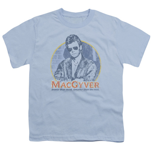 Image for MacGyver Youth T-Shirt - Title