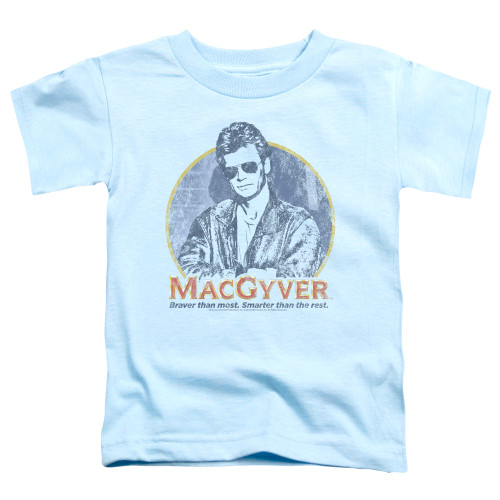 Image for MacGyver Toddler T-Shirt - Title