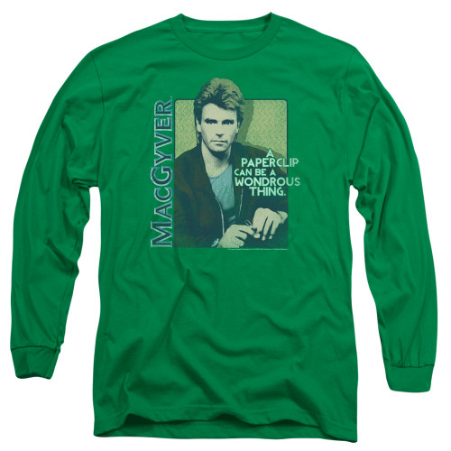 Image for MacGyver Long Sleeve T-Shirt - Paper Clip
