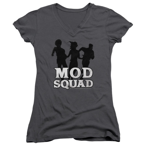 Image for The Mod Squad Girls V Neck T-Shirt - Run Simple