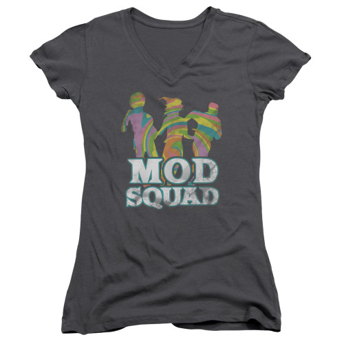 Image for The Mod Squad Girls V Neck T-Shirt - Run Groovy