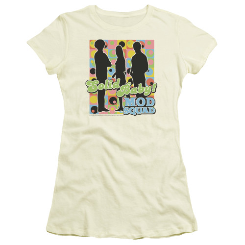 Image for The Mod Squad Girls T-Shirt - Solid Mod Pattern