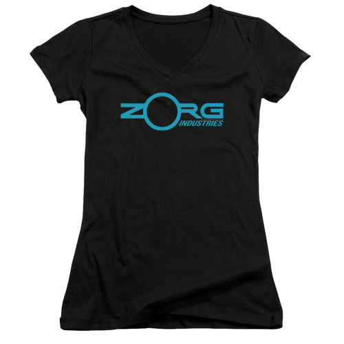 Image for The Fifth Element Girls V Neck - Zorg Logo