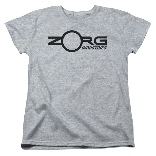 Image for The Fifth Element Womans T-Shirt - Zorg Corporate Logo