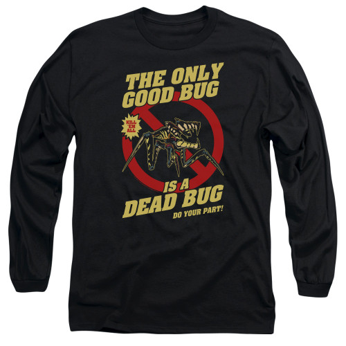 Image for Starship Troopers Long Sleeve Shirt - Dead Bug