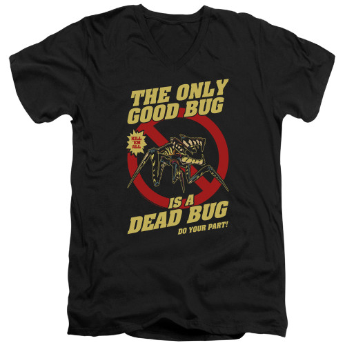 Image for Starship Troopers V Neck T-Shirt - Dead Bug