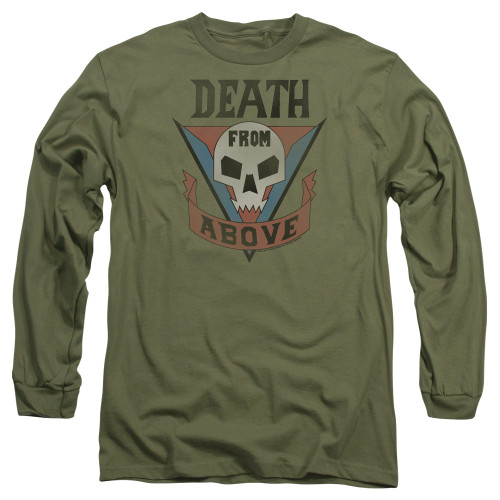 Image for Starship Troopers Long Sleeve Shirt - Classic Death from Above