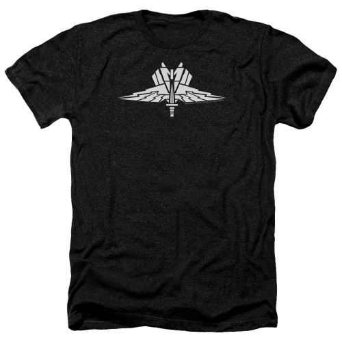 Image for Starship Troopers Heather T-Shirt - Insignia