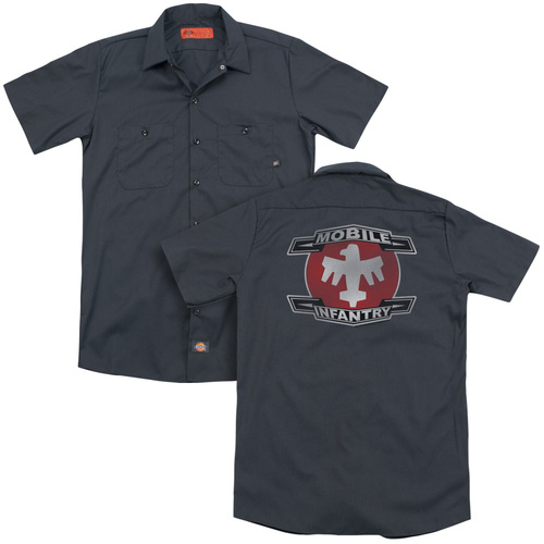 Image for Starship Troopers Dickies Work Shirt - Mobile Infantry