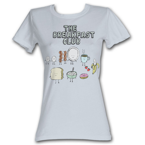 Image for The Breakfast Club Breakfast Girls T-Shirt