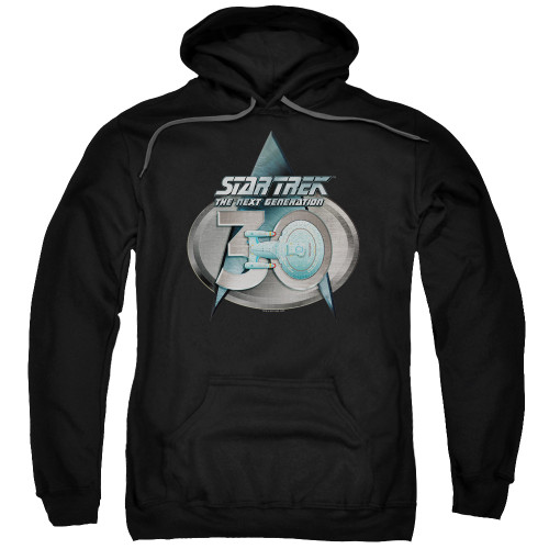 Image for Star Trek The Next Generation Hoodie - TNG 30 Logo