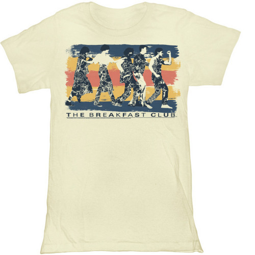 Image for The Breakfast Club Dance Away Girls T-Shirt