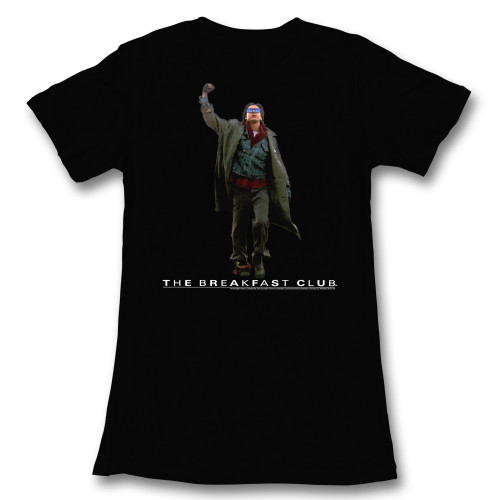 Image for The Breakfast Club Fist Pump Girls T-Shirt