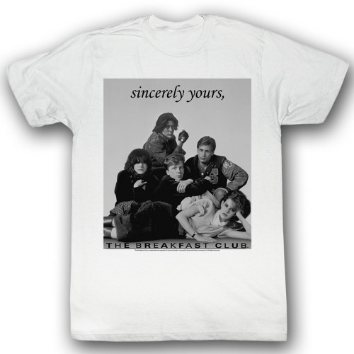 Image for The Breakfast Club T-Shirt - Laid Out
