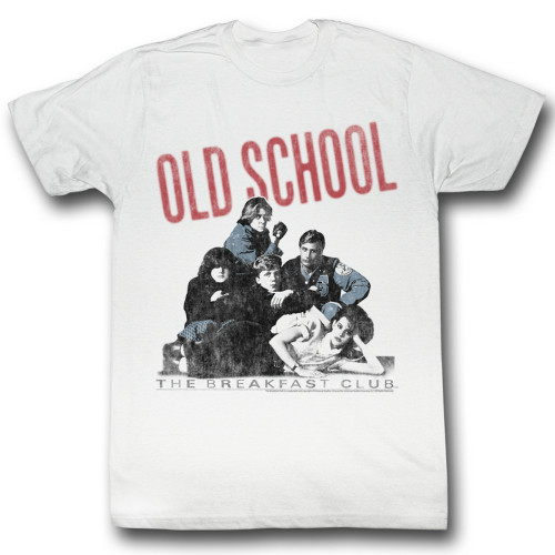 Image for The Breakfast Club T-Shirt - Old School