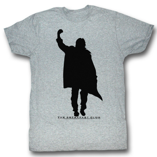 Image for The Breakfast Club T-Shirt - Fist Pump Silhouette