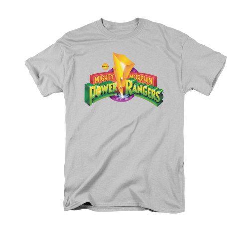 Image for Power Rangers T-Shirt - MMPR Logo