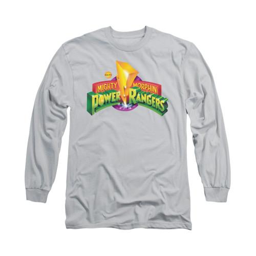 Image for Power Rangers Long Sleeve T-Shirt - MMPR Logo