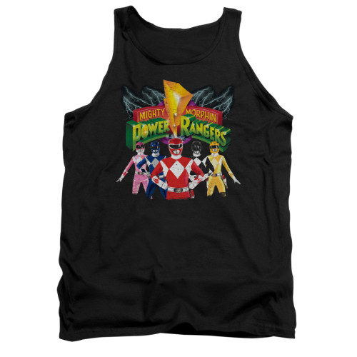 Image for Power Rangers Tank Top - Rangers Unite