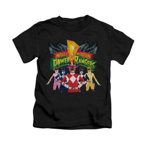 Image for Power Rangers Kids T-Shirt - Rangers Unite