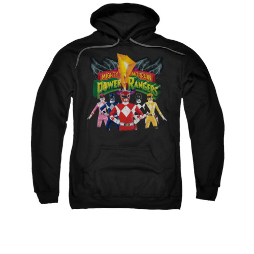 Image for Power Rangers Hoodie - Rangers Unite