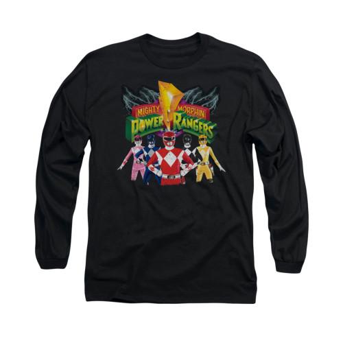 Image for Power Rangers Long Sleeve T-Shirt - Rangers Unite