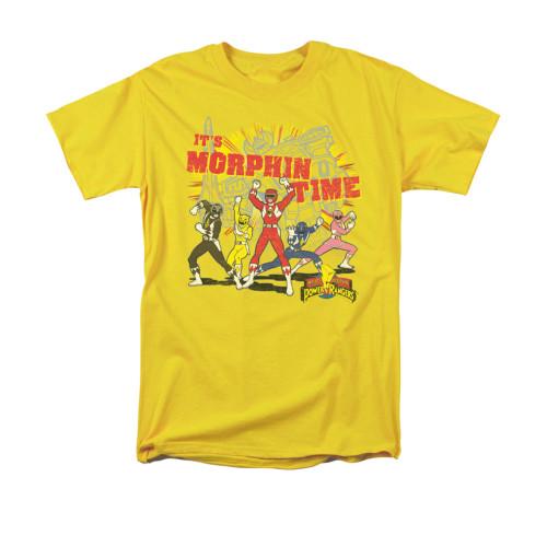 Image for Power Rangers T-Shirt - Morphin Time