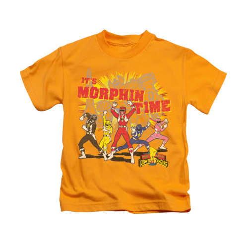 Image for Power Rangers Kids T-Shirt - Morphin Time