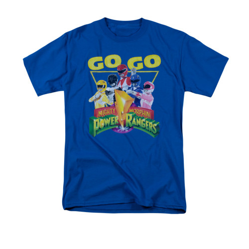 Image for Power Rangers T-Shirt - Go Go