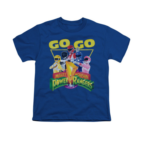 Image for Power Rangers Youth T-Shirt - Go Go
