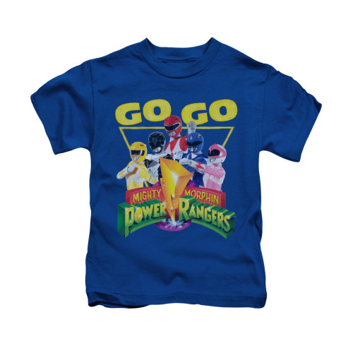 Image for Power Rangers Kids T-Shirt - Go Go