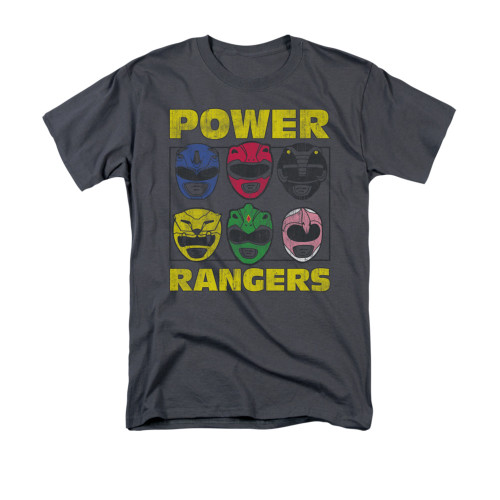 Image for Power Rangers T-Shirt - Ranger Heads