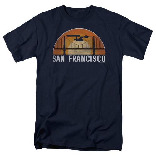 Image for Star Trek T-Shirt - San Francisco Enterprise