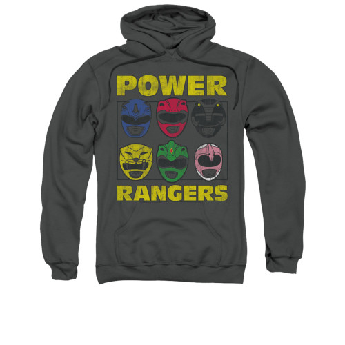 Image for Power Rangers Hoodie - Ranger Heads