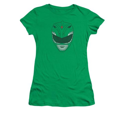 Image for Power Rangers Girls T-Shirt - Green Ranger