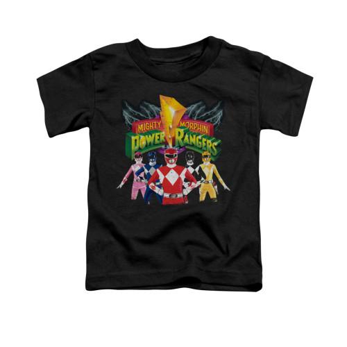 Image for Power Rangers Toddler T-Shirt - Rangers Unite