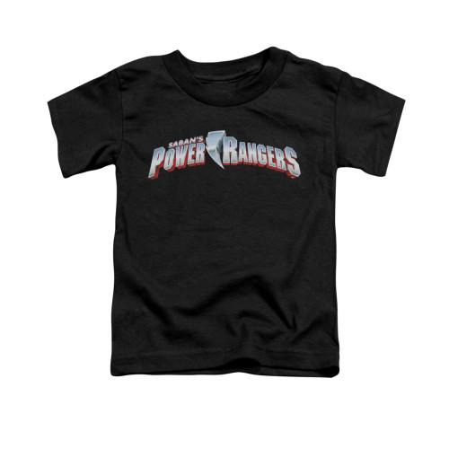 Image for Power Rangers Toddler T-Shirt - New Logos