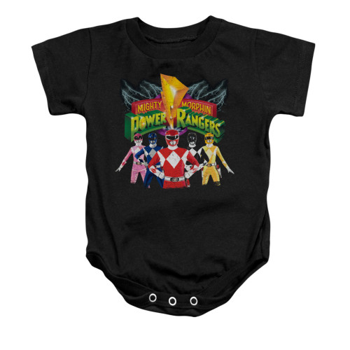 Image for Power Rangers Baby Creeper - Rangers Unite