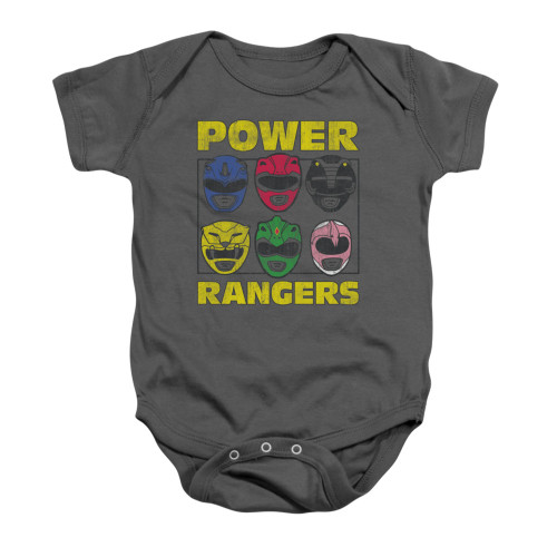 Image for Power Rangers Baby Creeper - Ranger Heads