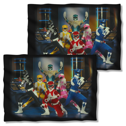 Image Closeup for Power Rangers Pillow Case - Stance