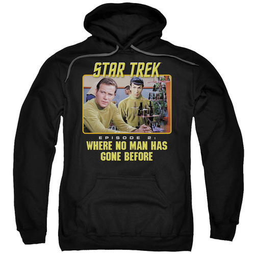 Image for Star Trek Hoodie - Episode 2: Where No Man Has Gone Before