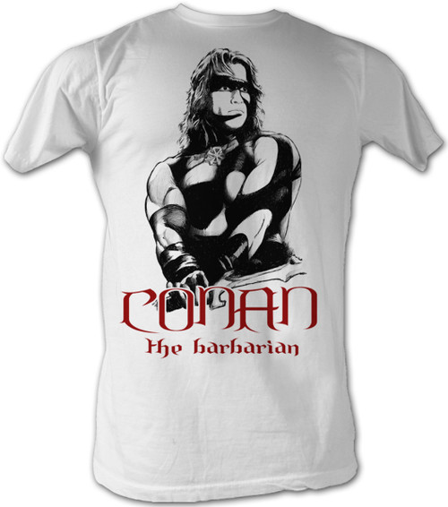 Image for Conan the Barbarian T-Shirt - Black and Red