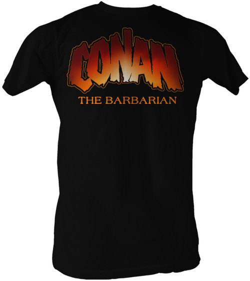 Image for Conan the Barbarian T-Shirt - New Logo