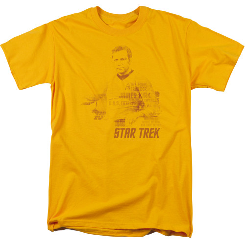 Image for Star Trek T-Shirt - Wordy Kirk